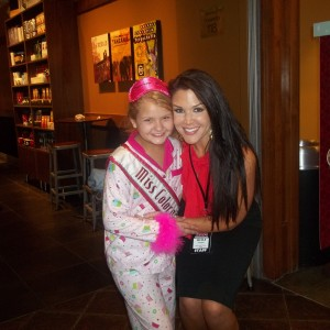 Miss Colorado JPT Abi Lange with State Director Nicole