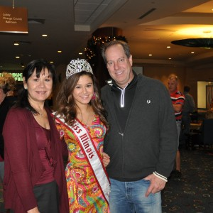 Miss IL Jr. Teen and family