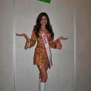 Miss IL Jr. Teen at 70's Party!
