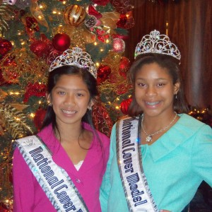 Preteen Maya Purcell and Cianna