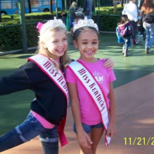Miss Nebraska and Miss Kentucky at Disney