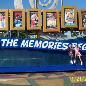 Miss Nebraska, Angel and Miss Kentucky, Mya at Disney