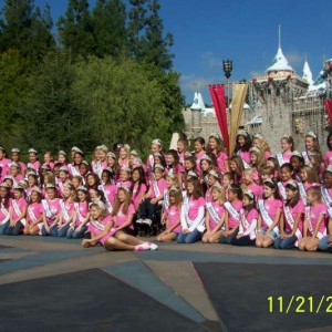 NAM Girls at the Castle at Disney