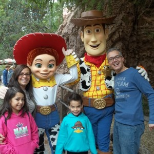 Capre Family with Woody and Jessie
