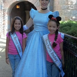 NJ Girls with Cinderella