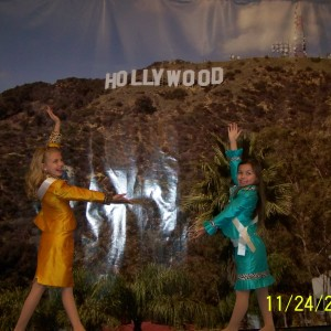 Miss Nebraska and sister Queen make it big in Hollywood!!!