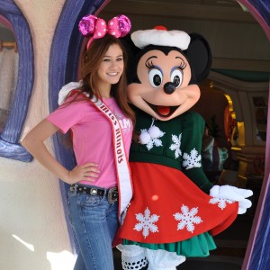 Miss IL Jr. Teen with Minnie Mouse
