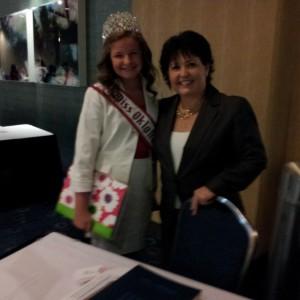 Kaylea Bixler OK preteen with one of her wonderful state directors Sandy Palmgren!!!
