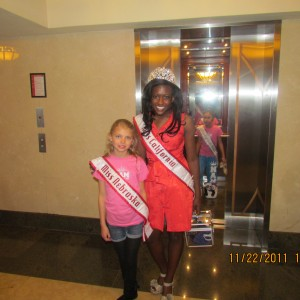 Miss Nebraska and Miss California