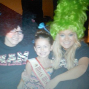 Miss Wisconsin Shelby Hohneke with choreographers Breanne Maples and Tracie Pinson
