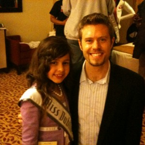 Miss Dublin with State Director Brian Cournoyer
