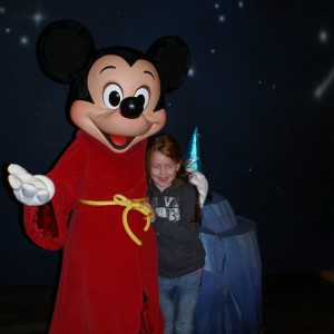 Princess Jacquelyn B with Mickey!
