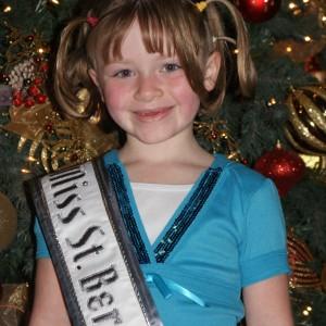 Princess Zoe A. with CRAZY hair!!