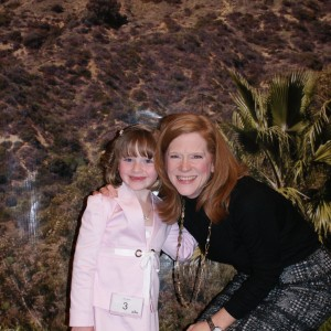 Princess Zoe A. with State Director Kathleen Mayes