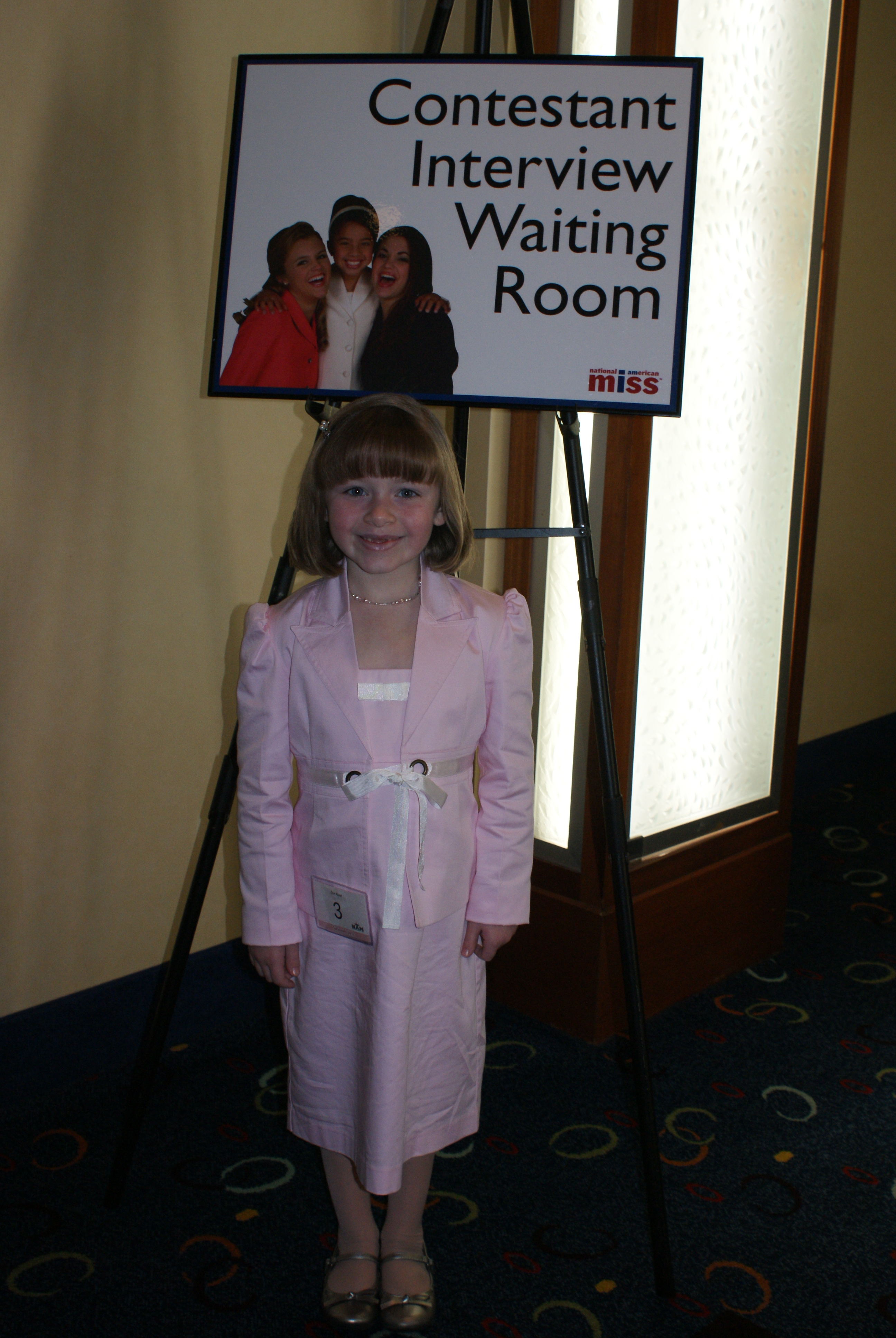 Princess Zoe A In Her Interview Suit National American