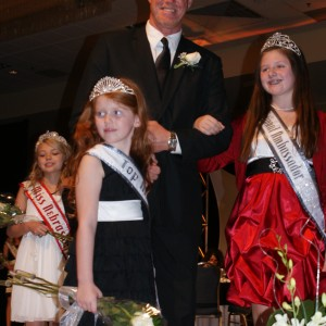 Princess Jacquelyn and her dad and Abby from Mississippi