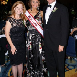 Texas Miss Heather Blakely and Mayes