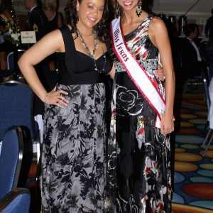 Texas Miss Heather Blakely and Lakisha