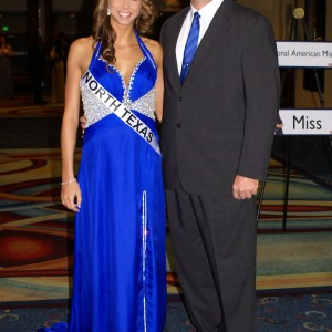 Texas Miss Heather Blakely and Dad