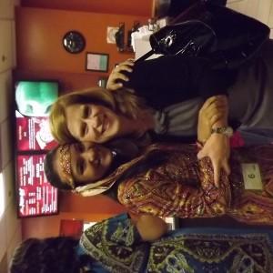 Sayonna with NYC Director, Kathleen Mayes