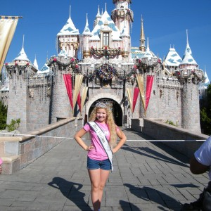 Sam @ Disney castle