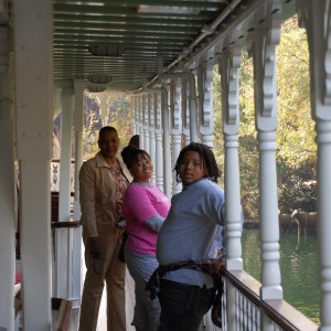 Gadson Family on the Mark Twain Boat Ride!