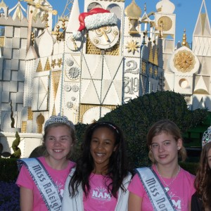 Pre Teen Leadership team at Disney