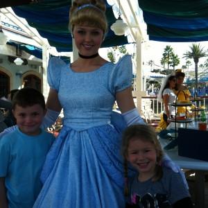 Princess Cori and Cinderella