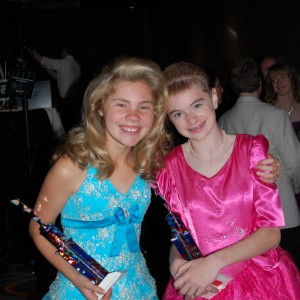 NC All American Pre Teens Alexandria Murphy & Kathryn Cowsert