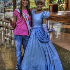 Heather Blakely and Cinderella