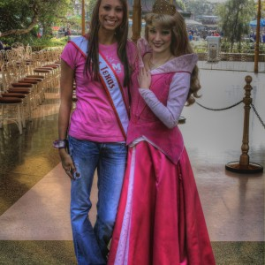 Texas Miss Heather Blakely and Sleeping Beauty