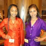 LeAnn & McKenna of Team Ambition Jr. Pre-teen before interview
