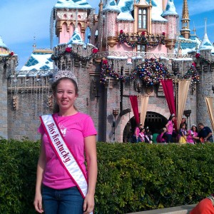 miss KY sleeping beauty's castle