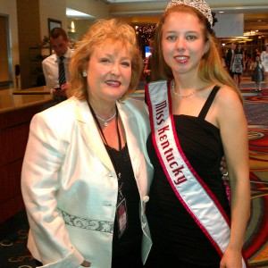 Ashley and state director Lani Maples