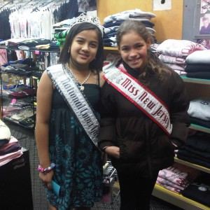 Miss New Jersey is such a sweetheart so i ended up taking this pic in a souvenir store ...