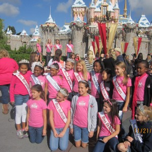 Team Leadership.... In Disneyland time of their lives... Contestant 76