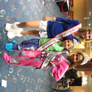 jr. preteen team confidence with national queens