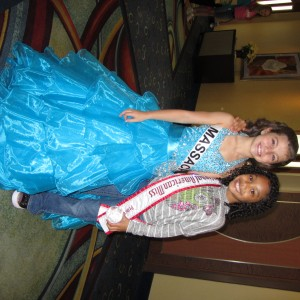 Jr.Preteen Team Confidence Member with National Princess Jenissa