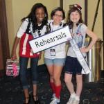Pre-Teens Hailey Kilgore & Kyra Walters with Choreographer Leslie DelGadillo