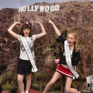 Pre-Teens Kyra Walters & Heather Walter and The Hollywood Hills