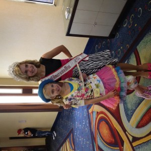 Angel with Jordan( Jr Preteen National Queen