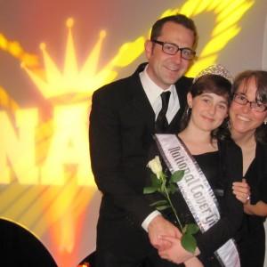 Pre-Teen Kyra Walters, uncle Rick Steadman, and mom, Andrea Walters