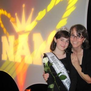 Pre-Teen Kyra Walters and mom, Andrea, at Thanksgiving Banquet