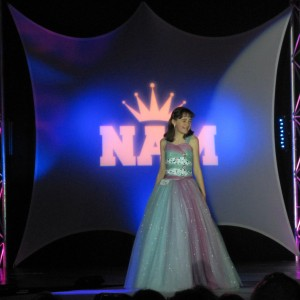 Pre-Teen Kyra Walters formal wear presentation