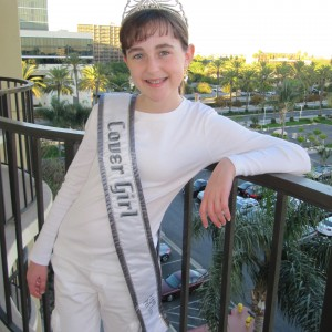 Oregon Cover Girl Pre-Teen Kyra Walters looking forward to NAMISS events!