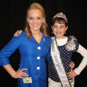 Jr. Teen Madi Irving and Pre-Teen Kyra Walters