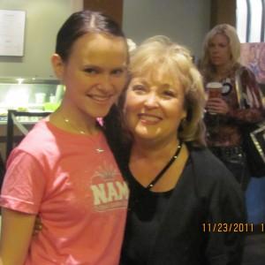 Victoria Sciborski and Lani Maples