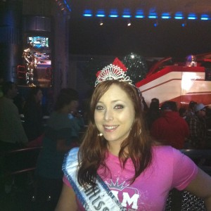 Miss Fremont of Team Achievement Miss Division at Star Tours
