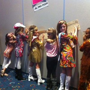 Team Service at the 70's party Mia Gryniuk Jr. PreTeen #43