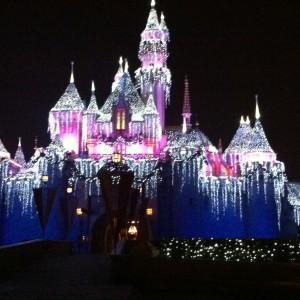 Cinderella's Castle all lit up!